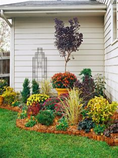 Flower Beds In Front Of House 132