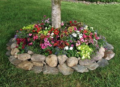 Flower Beds In Front Of House 153