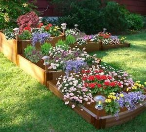 Flower Beds In Front Of House 2