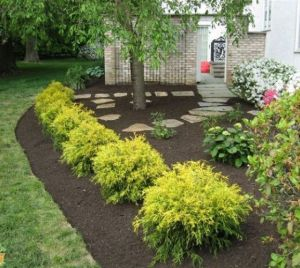 Flower Beds In Front Of House 63
