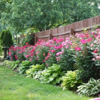 Flower Beds In Front Of House 70