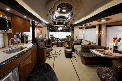Motorhome RV Trailer Interiors 103