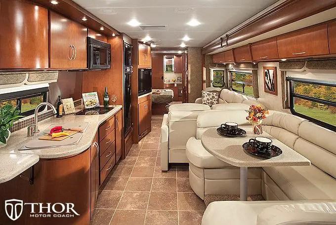 Motorhome RV Trailer Interiors 109