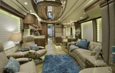 Motorhome RV Trailer Interiors 110