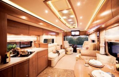 Motorhome RV Trailer Interiors 121
