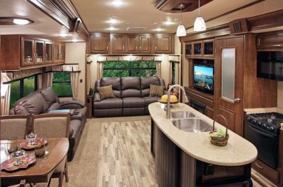 Motorhome RV Trailer Interiors 137