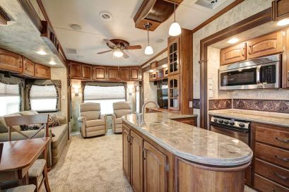 Motorhome RV Trailer Interiors 35
