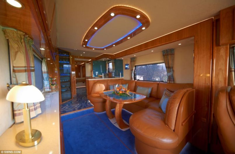 Motorhome RV Trailer Interiors 58