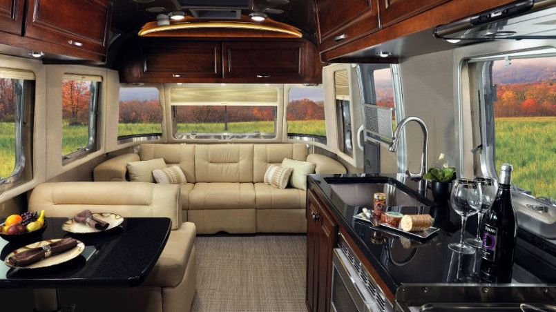 Motorhome RV Trailer Interiors 60
