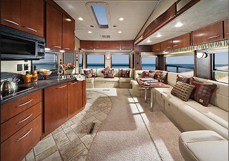 Motorhome RV Trailer Interiors 68