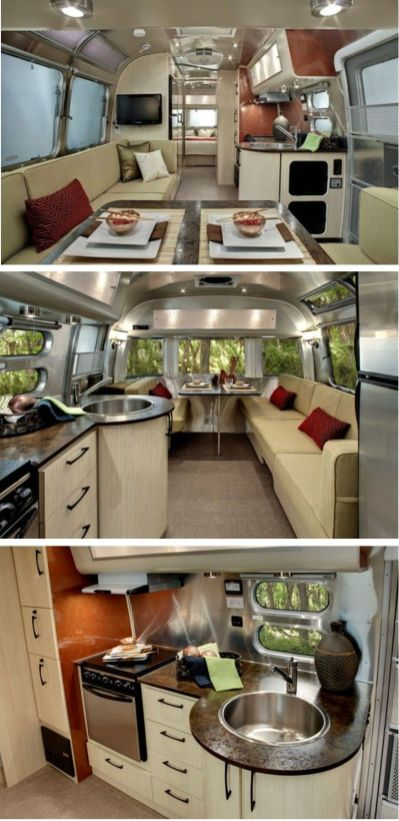 Motorhome RV Trailer Interiors 76