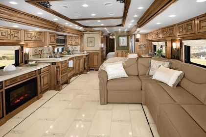 Motorhome RV Trailer Interiors 94