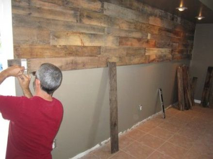 Reclaimed Wood Fireplace 105