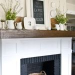 Reclaimed Wood Fireplace 106