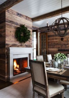 Reclaimed Wood Fireplace 107