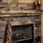 Reclaimed Wood Fireplace 117
