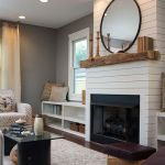 Reclaimed Wood Fireplace 127