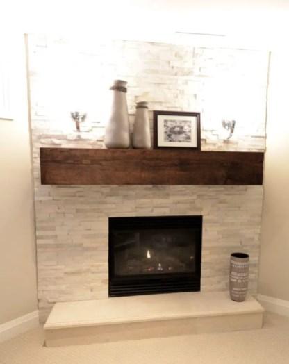 Reclaimed Wood Fireplace 133