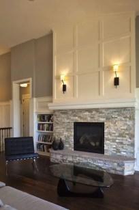 Reclaimed Wood Fireplace 138