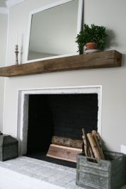 Reclaimed Wood Fireplace 24