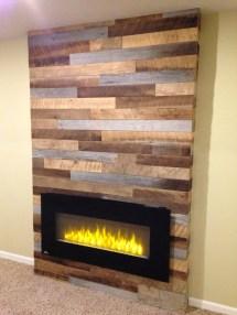 Reclaimed Wood Fireplace 29