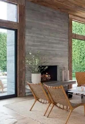 Reclaimed Wood Fireplace 44