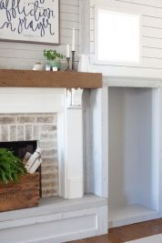Reclaimed Wood Fireplace 47
