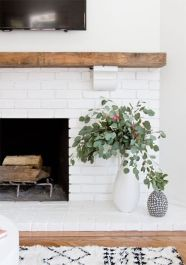 Reclaimed Wood Fireplace 73