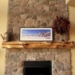 Reclaimed Wood Fireplace 77
