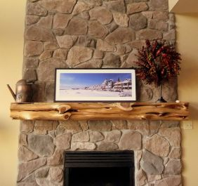 Reclaimed Wood Fireplace 77