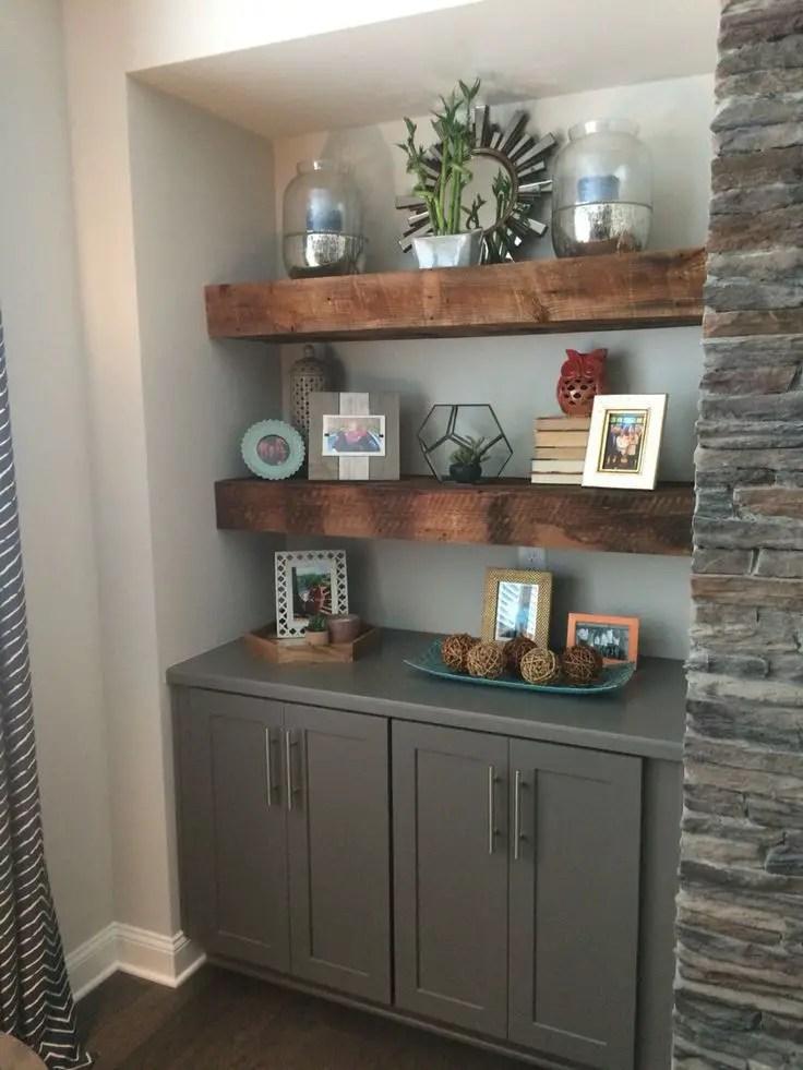 Reclaimed Wood Fireplace 92