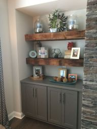 Reclaimed Wood Fireplace 92