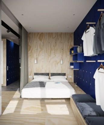 Small Apartment Bedroom Decor 138