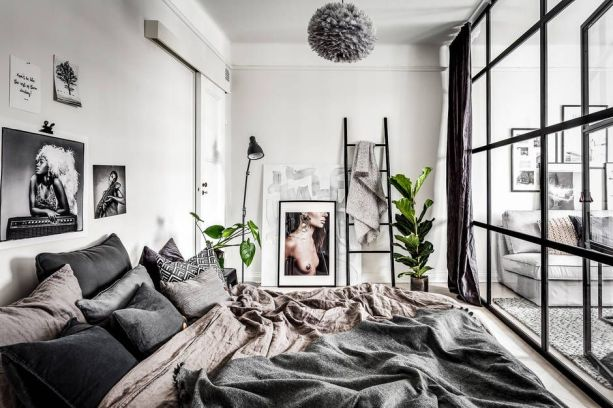 Small Apartment Bedroom Decor 37