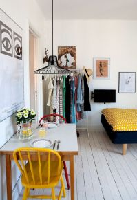 Small Apartment Bedroom Decor 56