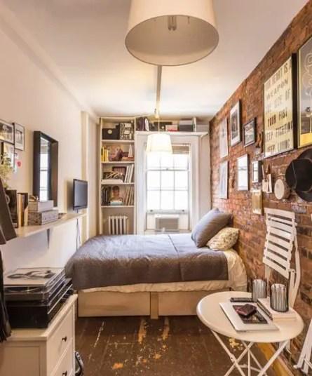 Small Apartment Bedroom Decor 74