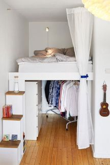 Small Apartment Bedroom Decor 94