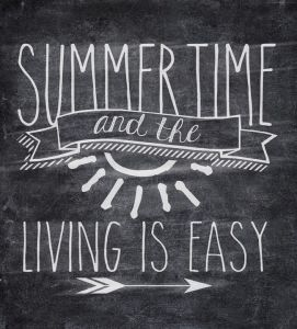 Summer Chalkboard Art 109