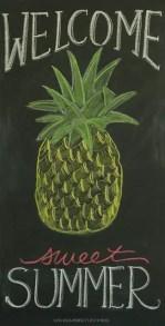 Summer Chalkboard Art 120