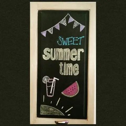 Summer Chalkboard Art 149
