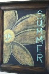 Summer Chalkboard Art 159
