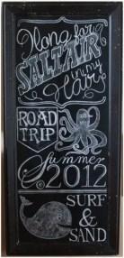 Summer Chalkboard Art 17