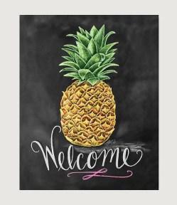 Summer Chalkboard Art 34