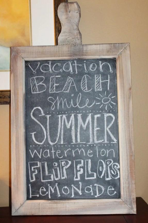 Summer Chalkboard Art 55