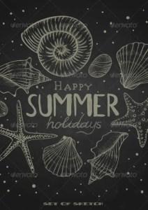 Summer Chalkboard Art 66