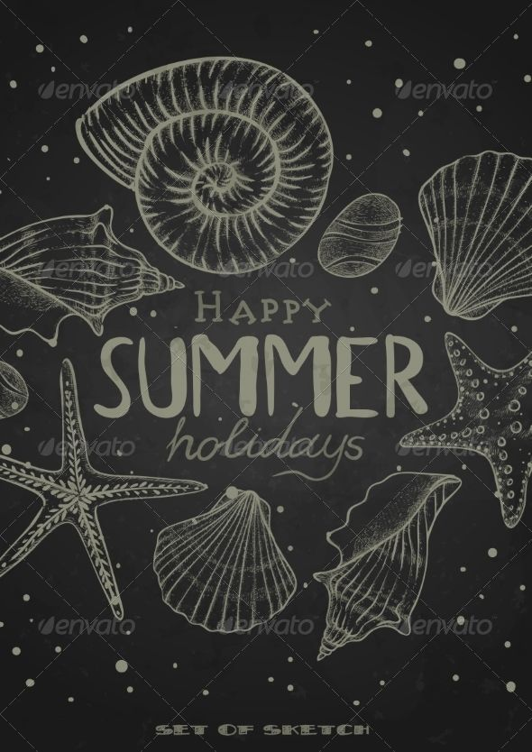 Summer Chalkboard Art 66