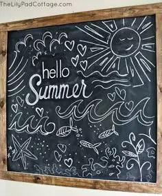 Summer Chalkboard Art 68