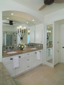 Tiny Master Bathroom 104