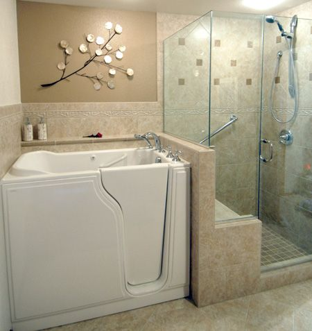 Tiny Master Bathroom 122