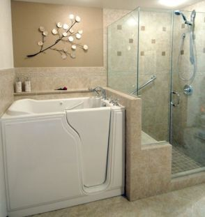 Tiny Master Bathroom 122